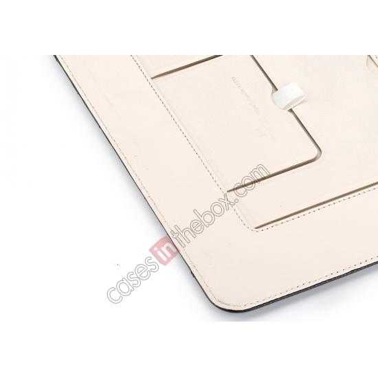 on sale Rock Reach Series 100% Real Genuine Cowhide Leather Case for iPad Air
