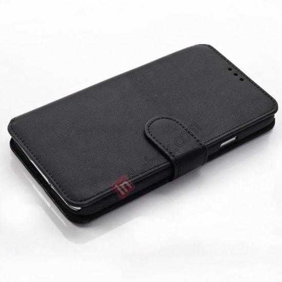 top quality South Korea Pattern Wallet Leather Stand Case for Samsung Galaxy S5 G900 - Black