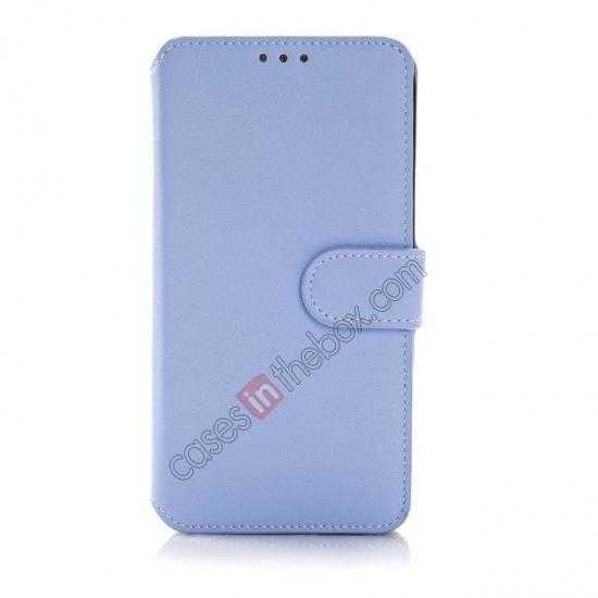 discount South Korea Pattern Wallet Leather Stand Case for Samsung Galaxy S5 G900 - Blue
