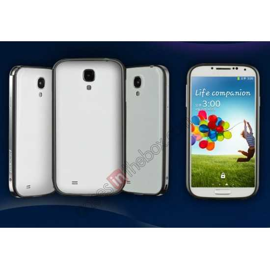 wholesale Sword Aluminum Metal Bumper Case For Samsung Galaxy S4 i9500 - Grey