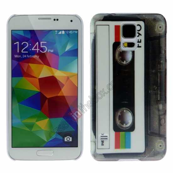 wholesale Tape Pattern Anti-slip Protective Back Case Cover for Samsung Galaxy S5
