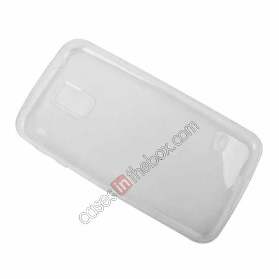 low price Transparent Tpu Soft Back Cover Case for Samsung Galaxy S5