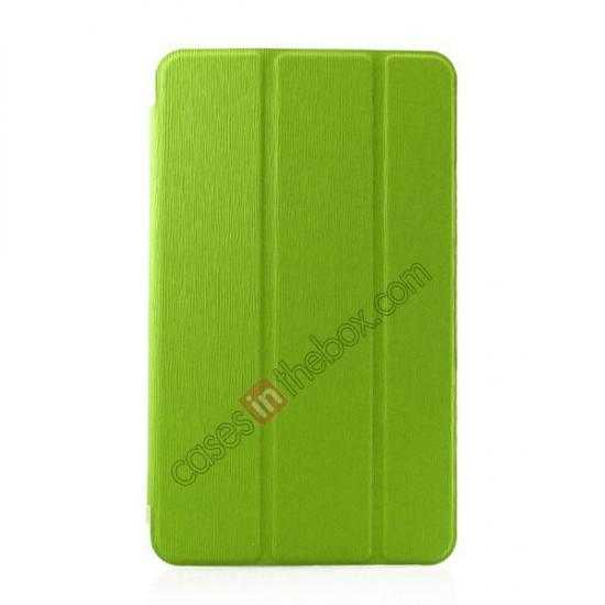 wholesale Ultra Slim Smart Leather Magnetic Stand Case Cover For Samsung Galaxy Tab Pro 8.4 T320 - Green