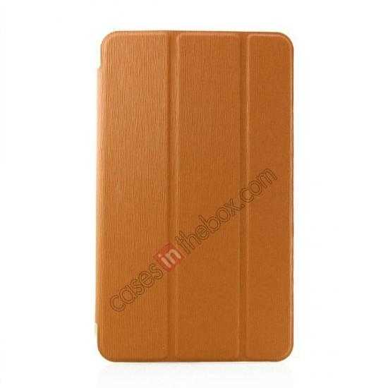 wholesale Ultra Slim Smart Leather Magnetic Stand Case Cover For Samsung Galaxy Tab Pro 8.4 T320 - Orange