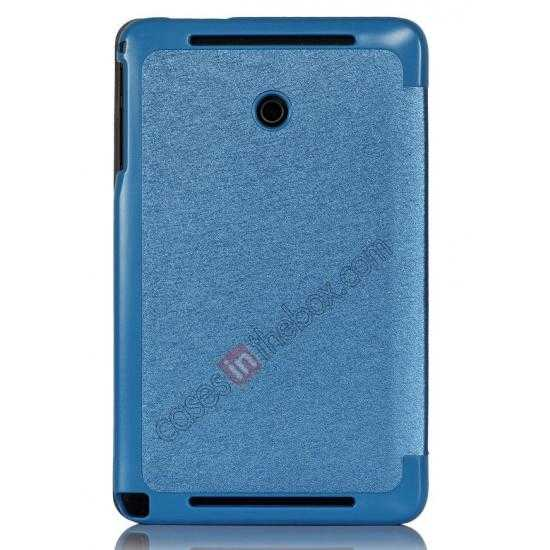 discount Ultra Slim Tri Fold Leather Case Cover for ASUS VivoTab Note8 M80TA - Blue