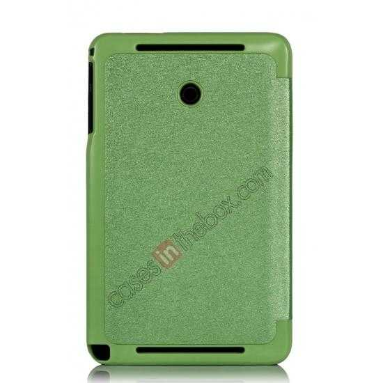 best price Ultra Slim Tri Fold Leather Case Cover for ASUS VivoTab Note8 M80TA - Green
