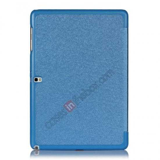 on sale Ultra Slim Tri Fold Leather Case Cover for Samsung Galaxy Note Pro 12.2 P900 - Blue
