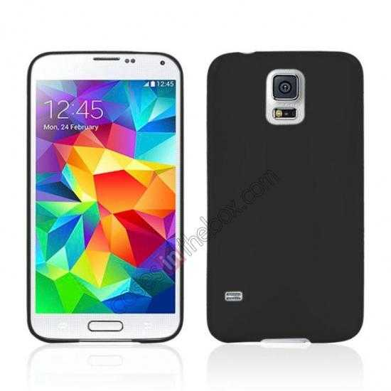wholesale Ultra Thin Slim Hard Back Case Cover For Samsung Galaxy S5 - Black