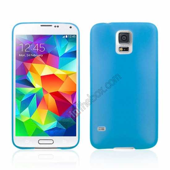 wholesale Ultra Thin Slim Hard Back Case Cover For Samsung Galaxy S5 - Blue