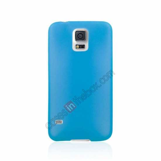 discount Ultra Thin Slim Hard Back Case Cover For Samsung Galaxy S5 - Blue