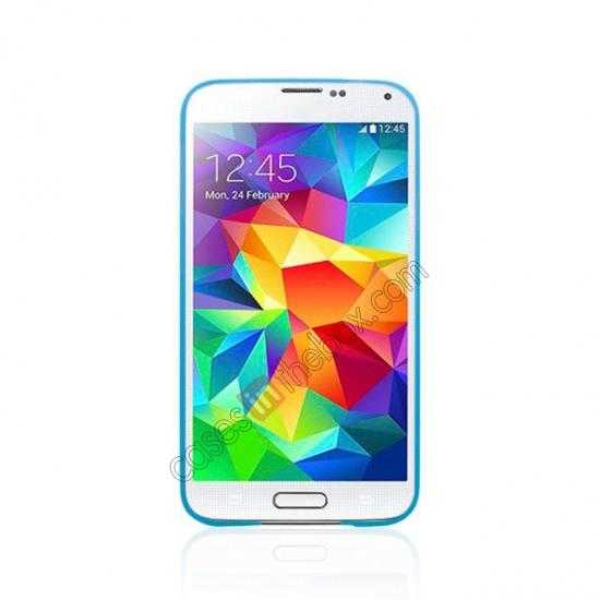 cheap Ultra Thin Slim Hard Back Case Cover For Samsung Galaxy S5 - Blue