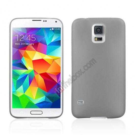 wholesale Ultra Thin Slim Hard Back Case Cover For Samsung Galaxy S5 - Grey