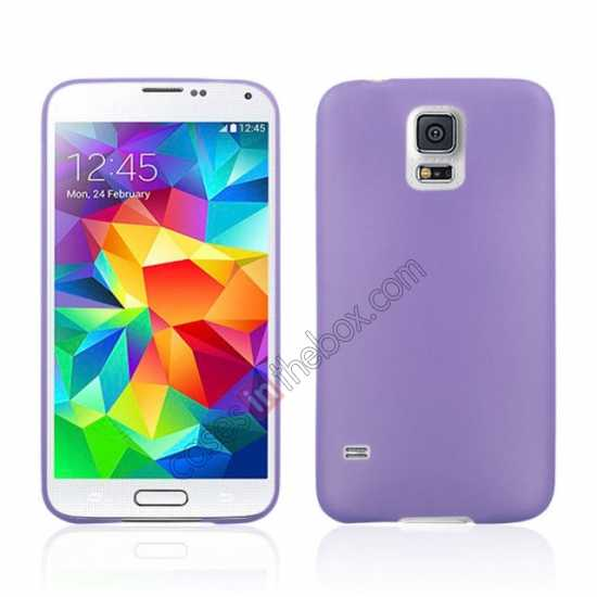 wholesale Ultra Thin Slim Hard Back Case Cover For Samsung Galaxy S5 - Purple