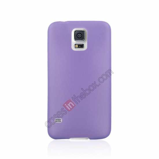discount Ultra Thin Slim Hard Back Case Cover For Samsung Galaxy S5 - Purple