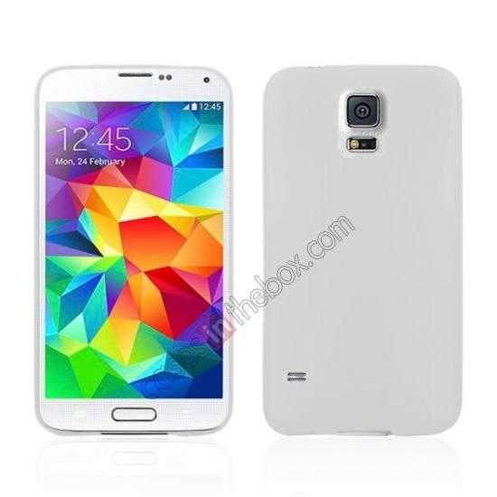 wholesale Ultra Thin Slim Hard Back Case Cover For Samsung Galaxy S5 - White
