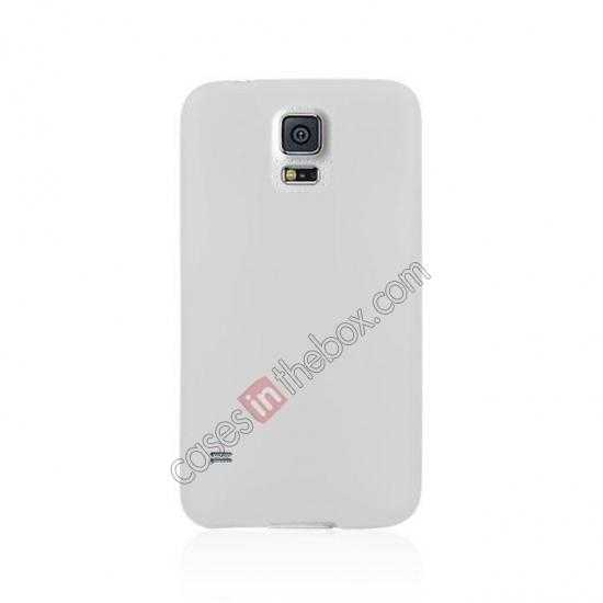 cheap Ultra Thin Slim Hard Back Case Cover For Samsung Galaxy S5 - White