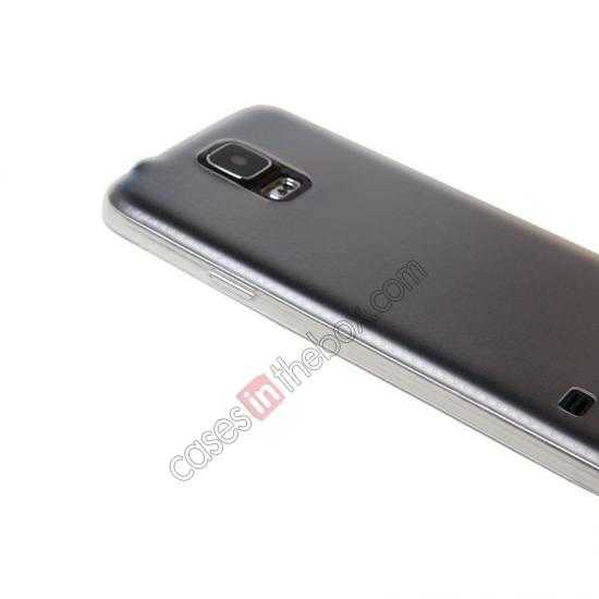 low price USAMS Super Thin TPU Gel Case Cover for Samsung Galaxy S5 - Transparent