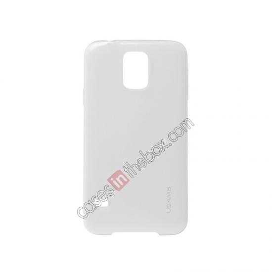 china wholesale USAMS Super Thin TPU Gel Case Cover for Samsung Galaxy S5 - Transparent