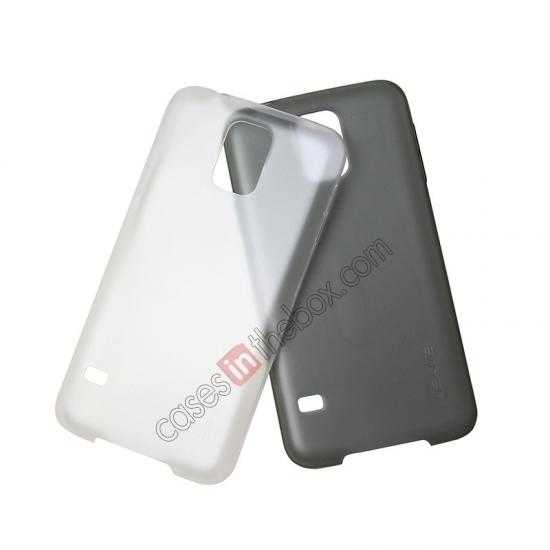 cheap wholesale USAMS Super Thin TPU Gel Case Cover for Samsung Galaxy S5 - Transparent