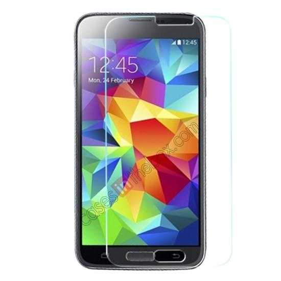 discount X-MAX GHD 0.3mm 2.5D 9H Hardness Tempered Glass Screen Protector for Samsung Galaxy S5