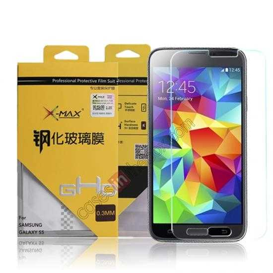 wholesale X-Max Series Tempered Glass Screen Protector for Samsung Galaxy S5 G900