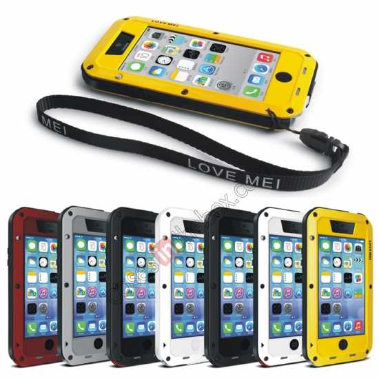 wholesale Rugged Shockproof Waterproof Protective Metal Case for iPhone 5C