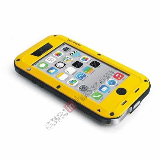 cheap Rugged Shockproof Waterproof Protective Metal Case for iPhone 5C