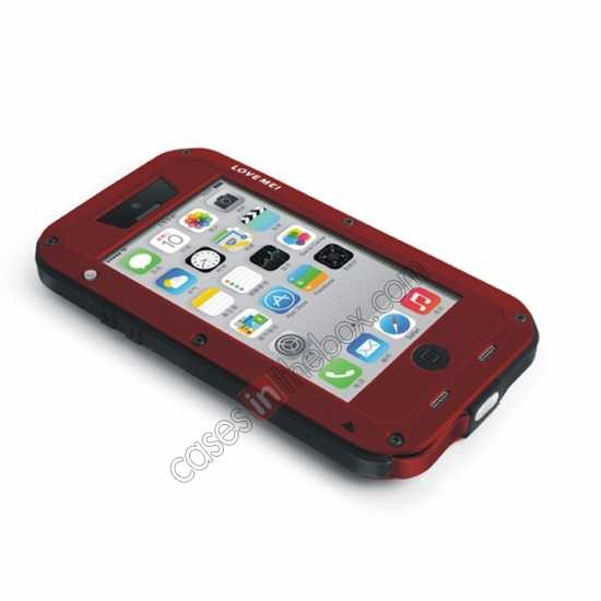 best price Rugged Shockproof Waterproof Protective Metal Case for iPhone 5C