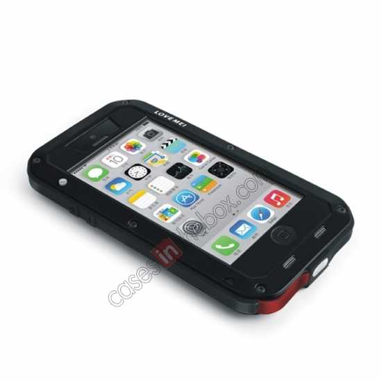 china wholesale Rugged Shockproof Waterproof Protective Metal Case for iPhone 5C