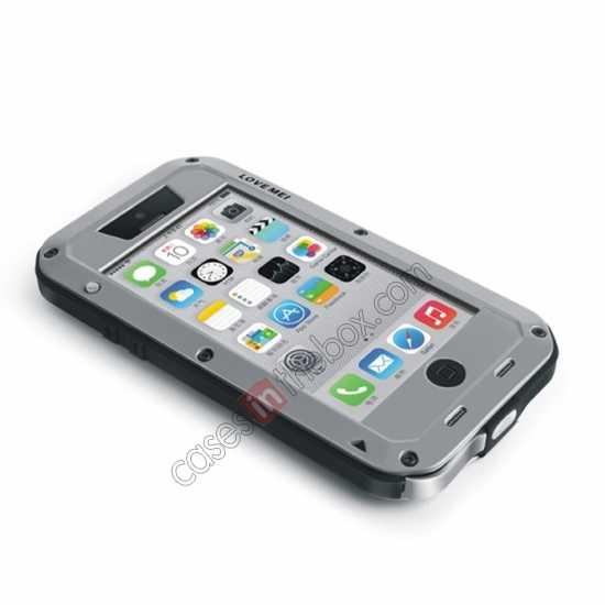 on sale Rugged Shockproof Waterproof Protective Metal Case for iPhone 5C