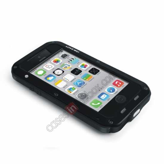 low price Rugged Shockproof Waterproof Protective Metal Case for iPhone 5C