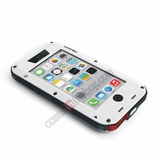 high quanlity Rugged Shockproof Waterproof Protective Metal Case for iPhone 5C