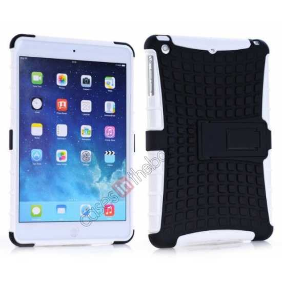 wholesale Shockproof Military Duty Hybrid Hard Case for iPad Mini 2 Retina - White