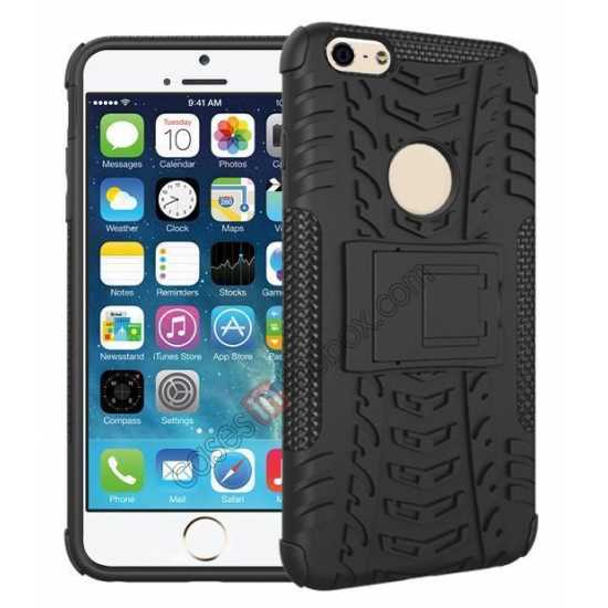 wholesale Heavy Duty Durable Case Cover Stand For iPhone 6 Plus/6S Plus 5.5inch - Black