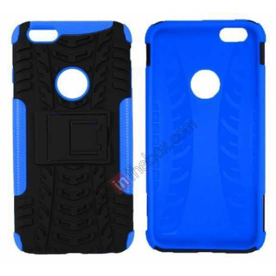 discount Heavy Duty Durable Case Cover Stand For iPhone 6 Plus/6S Plus 5.5inch - Blue