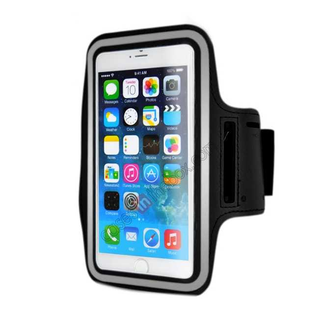 wholesale Sports Running Armband Case Cover For iPhone 6 Plus/iPhone 6S Plus 5.5inch - Black