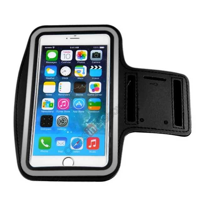 cheap Sports Running Armband Case Cover For iPhone 6 Plus/iPhone 6S Plus 5.5inch - Black