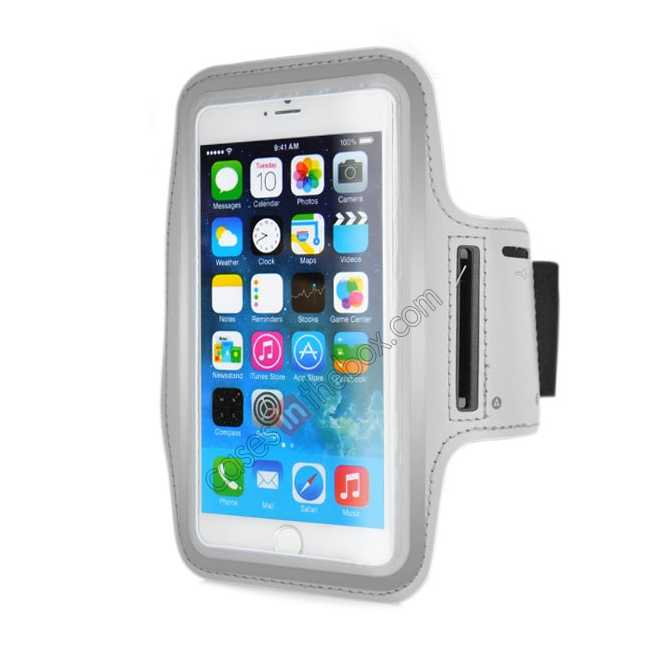 wholesale Sports Running Armband Case Cover For iPhone 6 Plus/iPhone 6S Plus 5.5inch - Grey