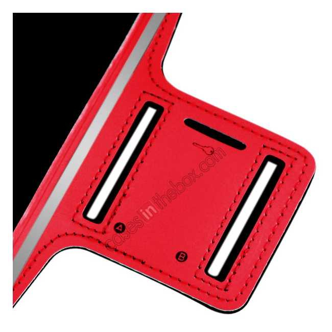 best price Sports Running Armband Case Cover For iPhone 6 Plus/iPhone 6S Plus 5.5inch - Red