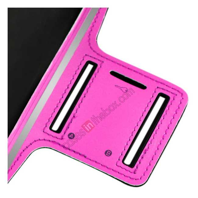 best price Sports Running Armband Case Cover For iPhone 6 Plus/iPhone 6S Plus 5.5inch - Rose Red