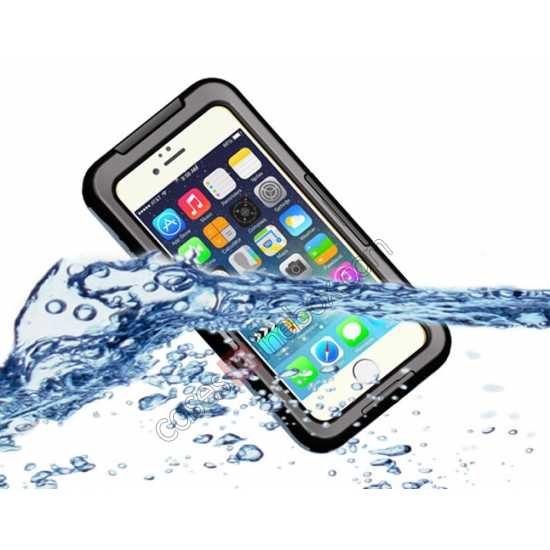 wholesale Waterproof Shockproof Dirt Proof Durable Case Cover for iPhone 6 Plus/6S Plus 5.5inch - Black