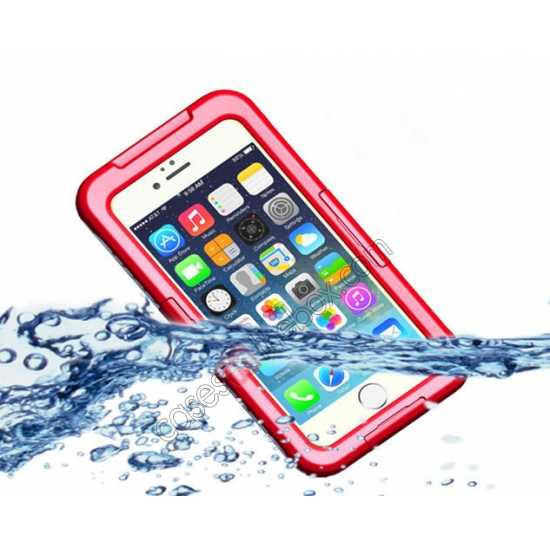 wholesale Waterproof Shockproof Dirt Proof Durable Case Cover for iPhone 6 Plus/6S Plus 5.5inch - Red