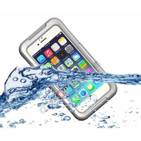 wholesale Waterproof Shockproof Dirt Proof Durable Case Cover for iPhone 6 Plus/6S Plus 5.5inch - White