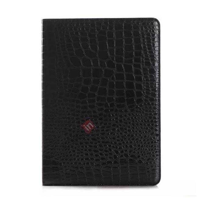 discount High quality Crocodile Skin Leather Stand Case for iPad Air 2 - Black