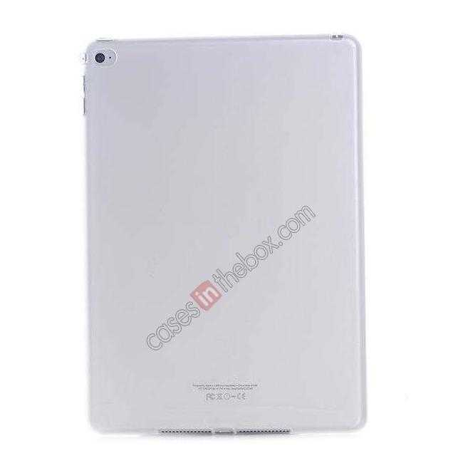 wholesale High Quality Matte Frosted Soft Tpu Gel Case Back Cover for iPad Air 2 - White