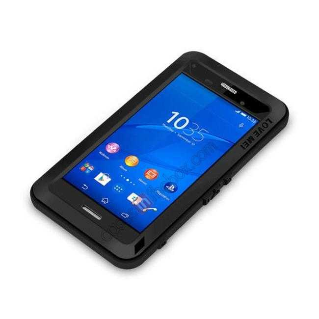 cheap Waterproof Shockproof Aluminum Gorilla Metal Case Cover For Sony Xperia Z3