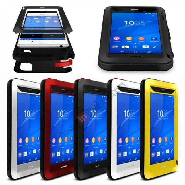 wholesale Waterproof Shockproof Aluminum Gorilla Metal Case Cover For Sony Xperia Z3