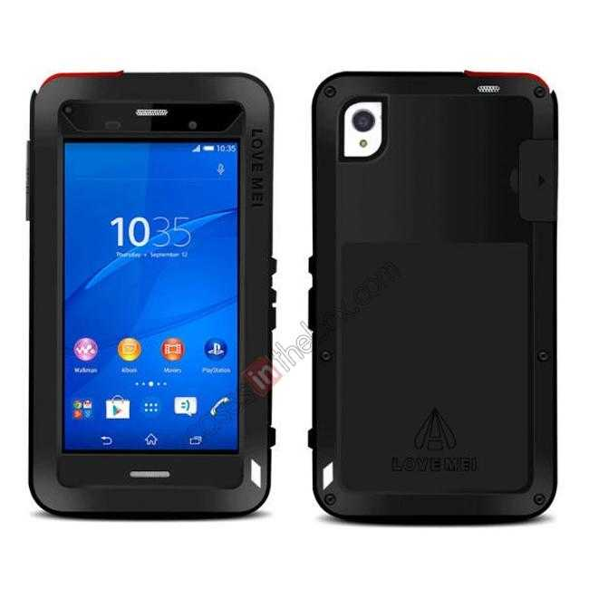 best price Waterproof Shockproof Aluminum Gorilla Metal Case Cover For Sony Xperia Z3