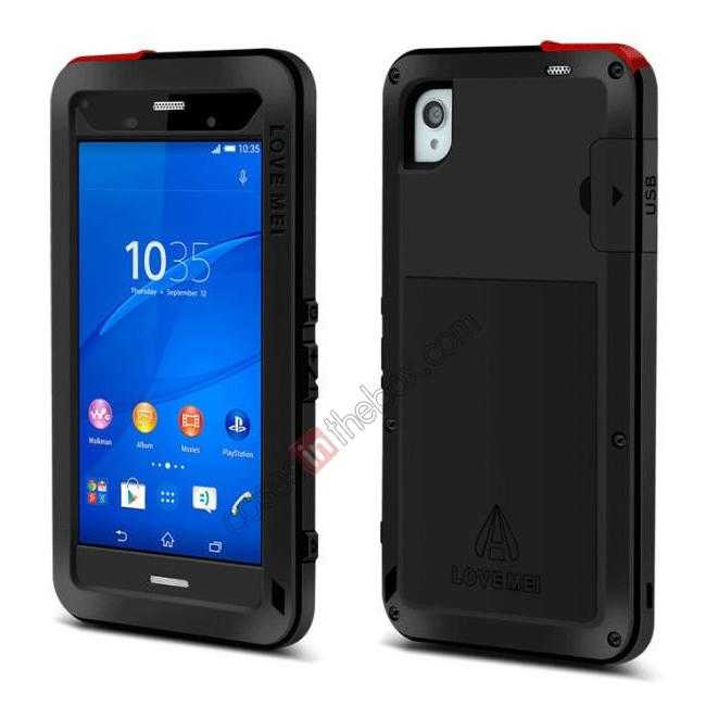 discount Waterproof Shockproof Aluminum Gorilla Metal Case Cover For Sony Xperia Z3