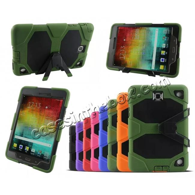 on sale ShockProof Protect Case Cover With Stand For Samsung Galaxy Tab A 9.7 T550 - Army green